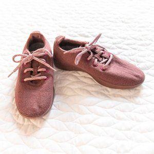 allbirds •Burgundy Wool Runner Lace Sneakers Sz 8